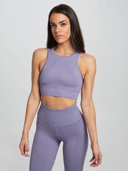 Pale Purple One By One Bra, Purple, large