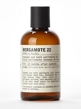 Bergamote Body Oil 4 fl. oz, Clear, large