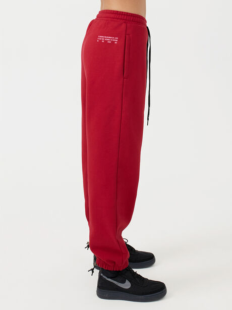 Courtside Trackpant Chilli Pepper, Red, large image number 7