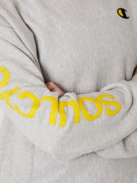 Unisex Crewneck Sweatshirt, Heather Grey, large image number 2