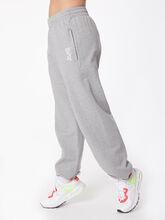 Loose Fit Zipper Pocket Sweatpant Grey Marl, Grey, large