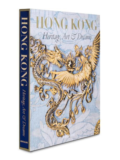 Hong Kong: Heritage, Art, & Dreams Hardcover Book, Gold, large image number 0