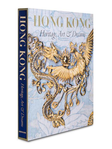 Hong Kong: Heritage, Art, & Dreams Hardcover Book, Gold, large image number 0