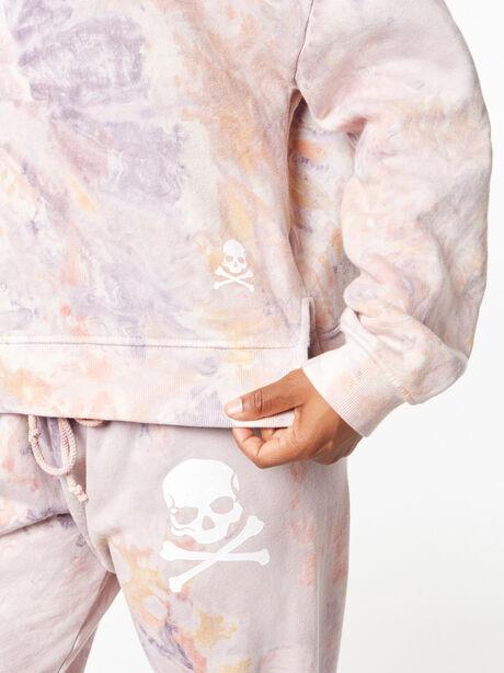 Tie-Dye Lounge Sweatshirt Marble, Tie Dye, large image number 2