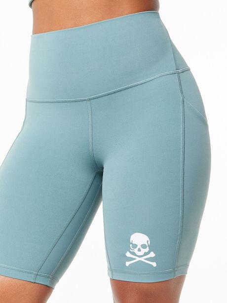 "Align™ Short With Pockets 8"" Tidewater Teal, , large image number 2"