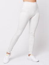 White Animal Legging, White, large