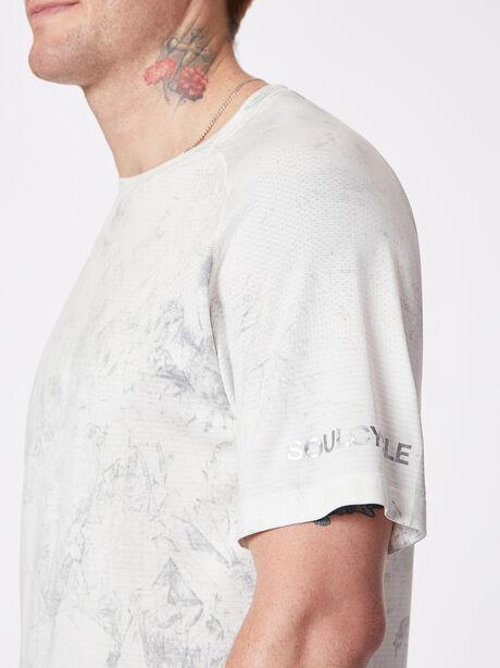 Metal Vent Tech Shortsleeve, White/White/Light Cast, large image number 1
