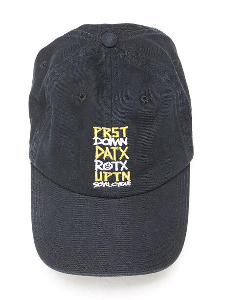 Texas Dad Hat Black, Black, large image number 0