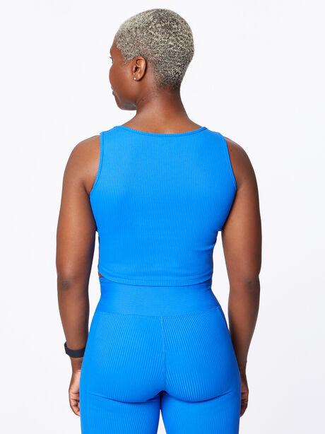 Ribbed Active Cami Blue, Blue, large image number 2