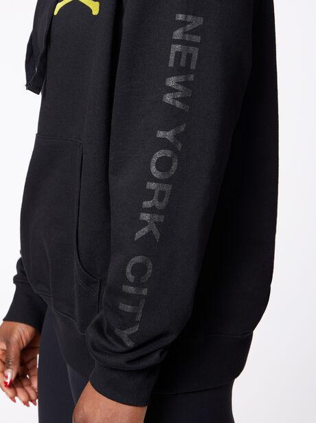 New York Kingsley Hoodie Black, Black, large image number 1