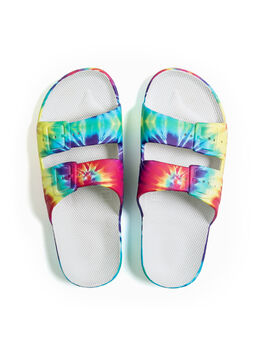 Moses Two Band Slides Hendrix Tie-Dye, , large