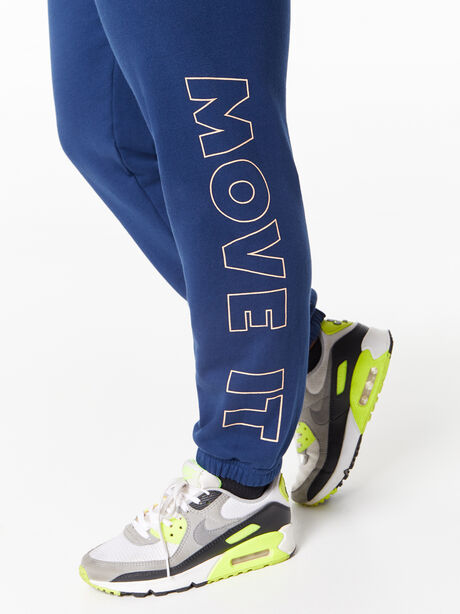 The Bender Ankle Sweatpant Insignia Blue, Blue, large image number 2