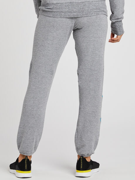 Embroidery Sweatpants, Heather Grey, large image number 1