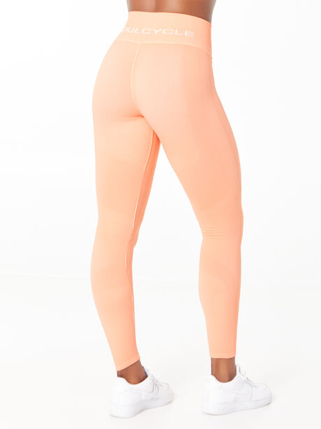 One By One Seamless Legging Peach, Peach, large image number 3