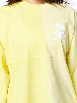 Exclusive Vertical Fade Dip Dye Spirit Jersey Yellow, Yellow, large