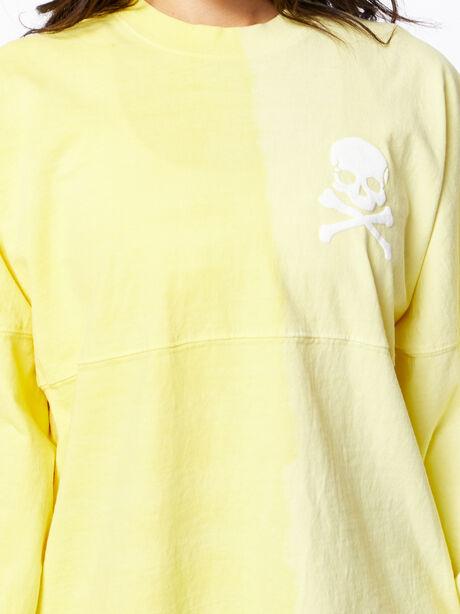 Exclusive Vertical Fade Dip Dye Spirit Jersey Yellow, Yellow, large image number 1