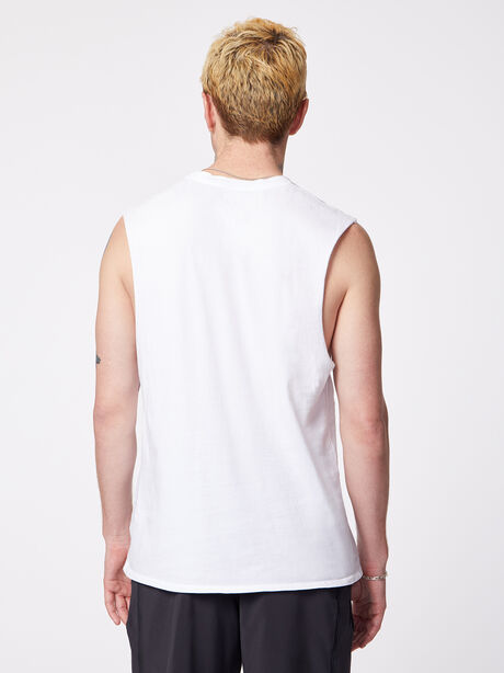 Pride Activate Muscle Tank White, White, large image number 2