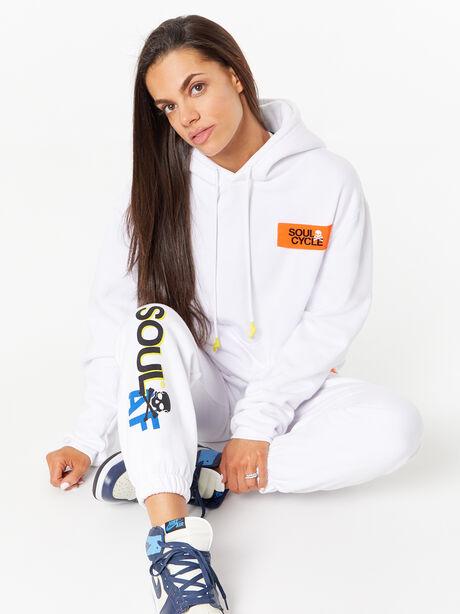 Billie Sweatpant White, White, large image number 4