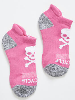 Ankle Sock, Pink, large
