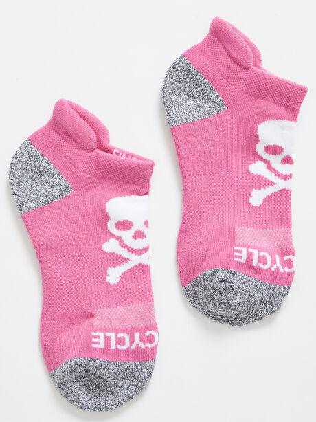 Ankle Sock, Pink, large image number 0