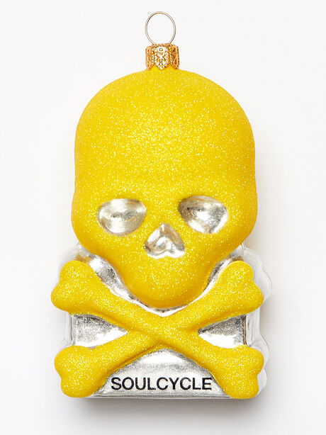 Skull Ornament, Yellow, large image number 0
