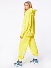 Exclusive Loose Fit Jogger Yellow, Yellow, large