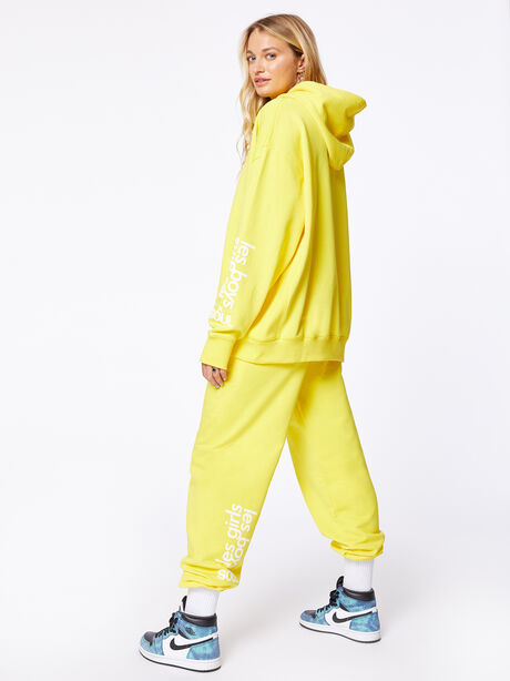 Exclusive Loose Fit Jogger Yellow, Yellow, large image number 0