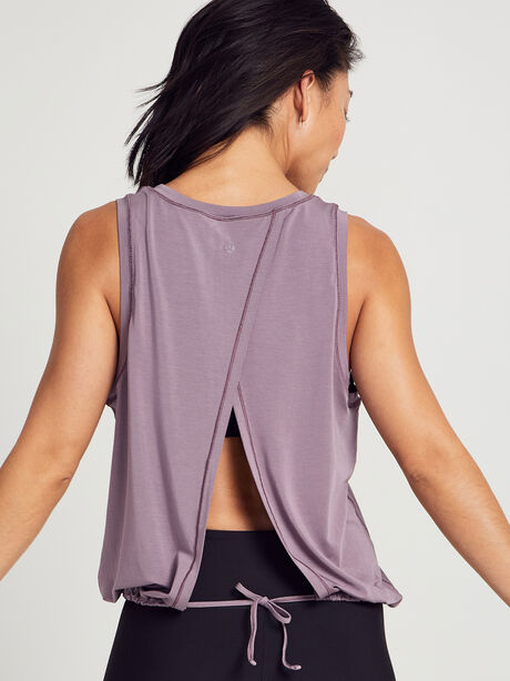 Calm And Serene Tank Top, Frosted Mulberry, large image number 1