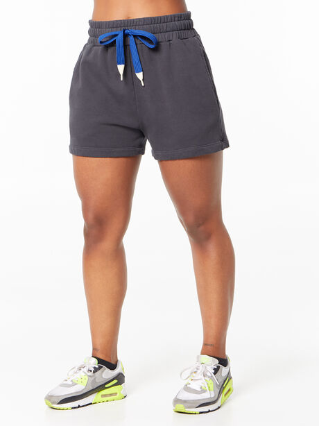The Knock Out Short Short Faded Black, Faded Black, large image number 0