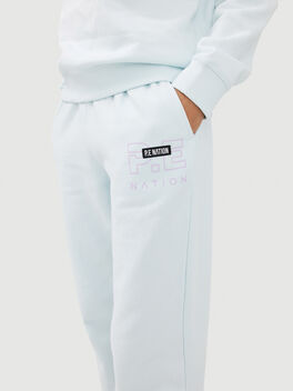 Grand Stand Track Pant Blue, Blue, large