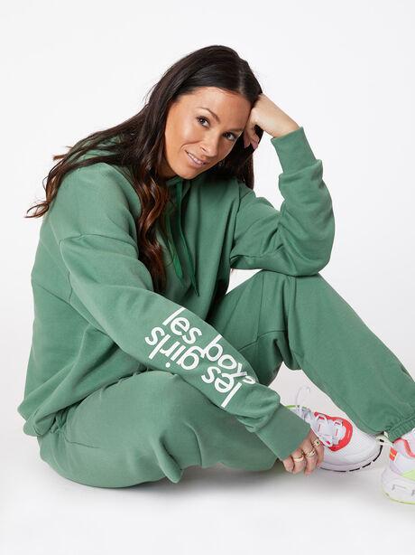 Sweatpant Myrtle Green, Green, large image number 0