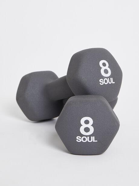 8 lb Weight Set, Grey, large image number 0