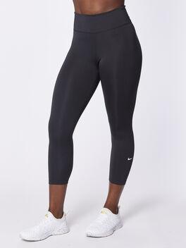 The One Crop Legging, Black/White, large