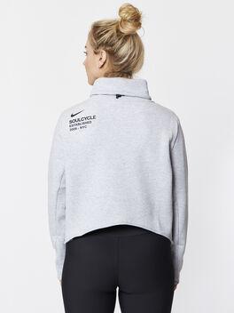 Therma Long Sleeve Training Top Grey, White/Black/Wolf Grey, large