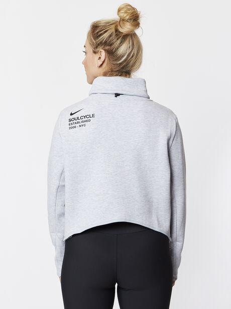 Therma Long Sleeve Training Top Grey, White/Black/Wolf Grey, large image number 1