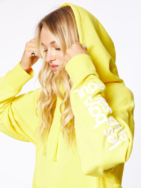 Exclusive Oversized Hoodie Yellow, Yellow, large image number 0