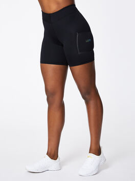 V Front Short Black, Black, large