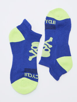 Ankle Sock, Blue, large