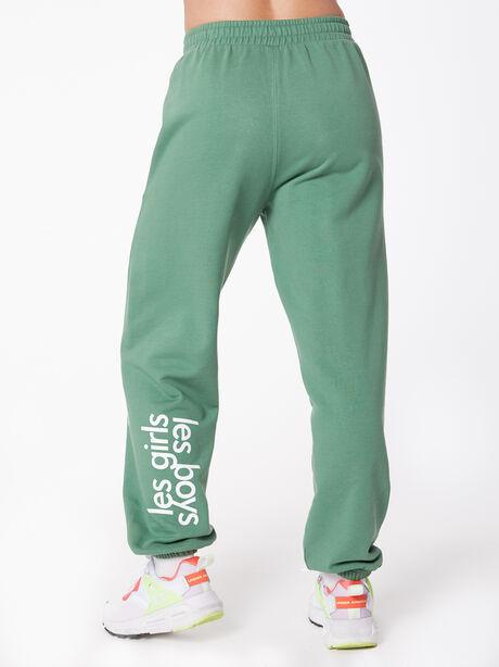Sweatpant Myrtle Green, Green, large image number 3