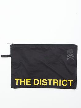 The District Reusable Sweat Bag, Black, large