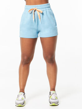 The Knock Out Short Short Milky Blue, , large