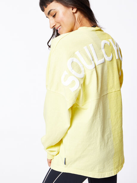 Exclusive Vertical Fade Dip Dye Spirit Jersey Yellow, Yellow, large image number 3