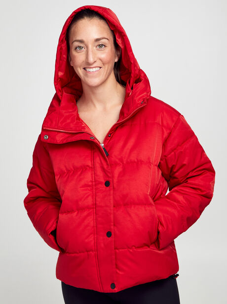 Puffer Jacket, Red, large image number 3