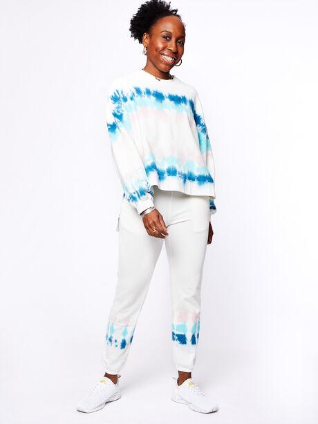 Neil Sweatshirt Balboa Blue/Camilla, White/Blue, large image number 4