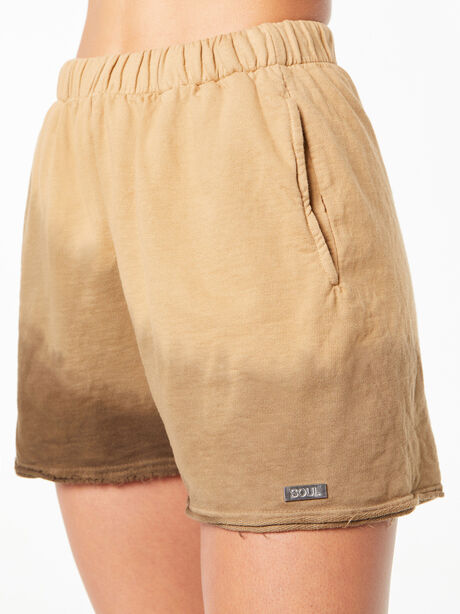 Zee Sweat Short Green Wash, Fatigue Green, large image number 0