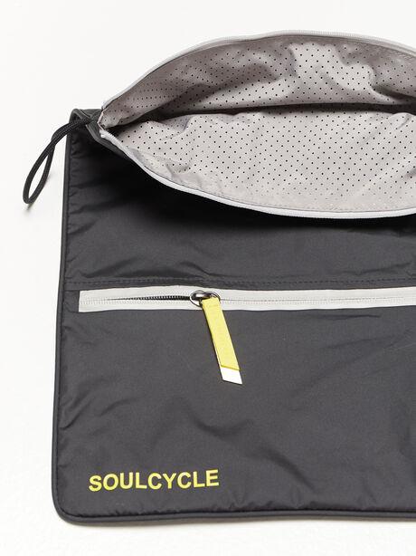 Double Pocket Sweatbag, Black, large image number 2