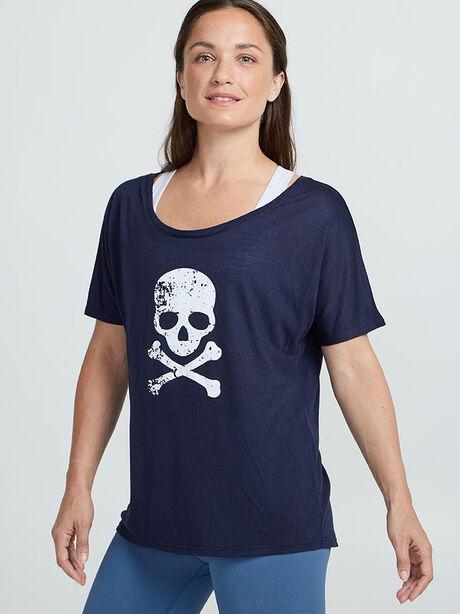 Hamptons Short Sleeve Shirt, True Navy, large image number 0