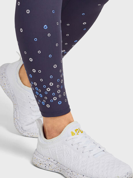 Scatter Grommet Leggings, Grey, large image number 2
