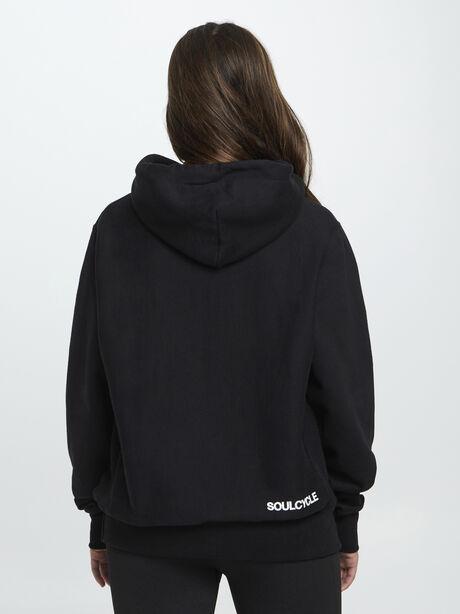 Unisex Champion Hoodie, Black, large image number 3