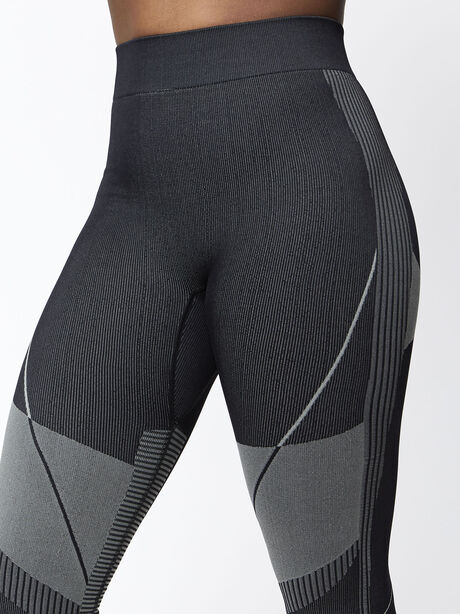 Seamless Contour Legging, Black, large image number 1